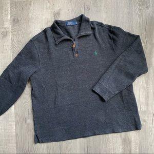 Polo Ralph Lauren Dark Gray Quarter-zip